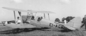 1960 Tiger Moth Training Aircraft